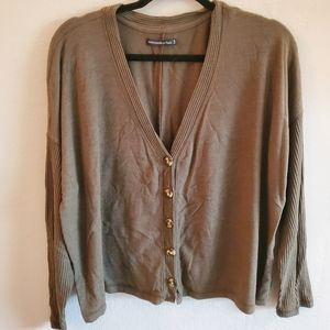 Abercrombie and Fitch Olive long Sleeve